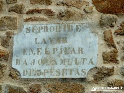 Sierra de Gata, Trevejo,Hoyos,Coria; puente del pilar cerezos en flor castillo de coca